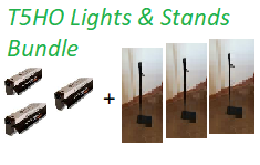 T5 Lights and Stands Bundle Image
